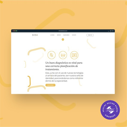 Diseño web clinicadentalsosa.com