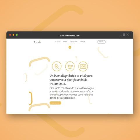 clinicadentalsosa.com web design