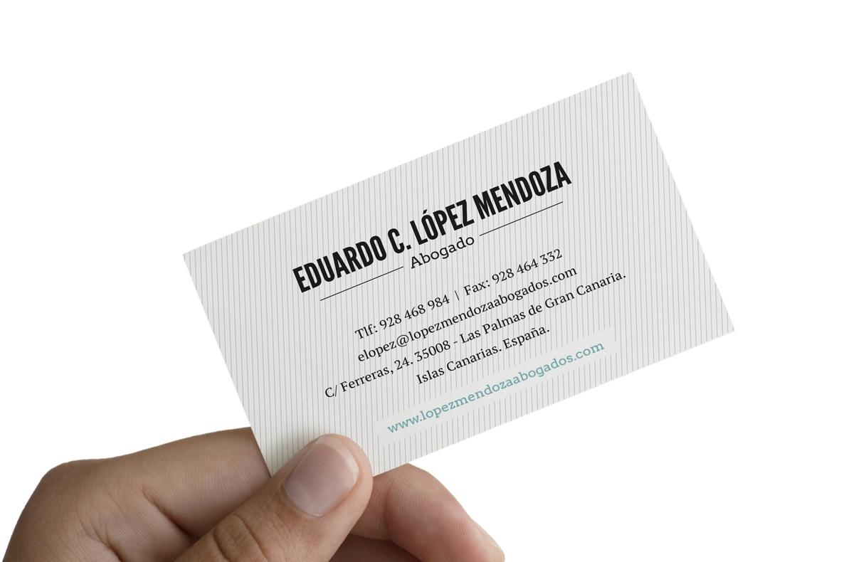 Identidad corporativa López Mendoza Abogados
