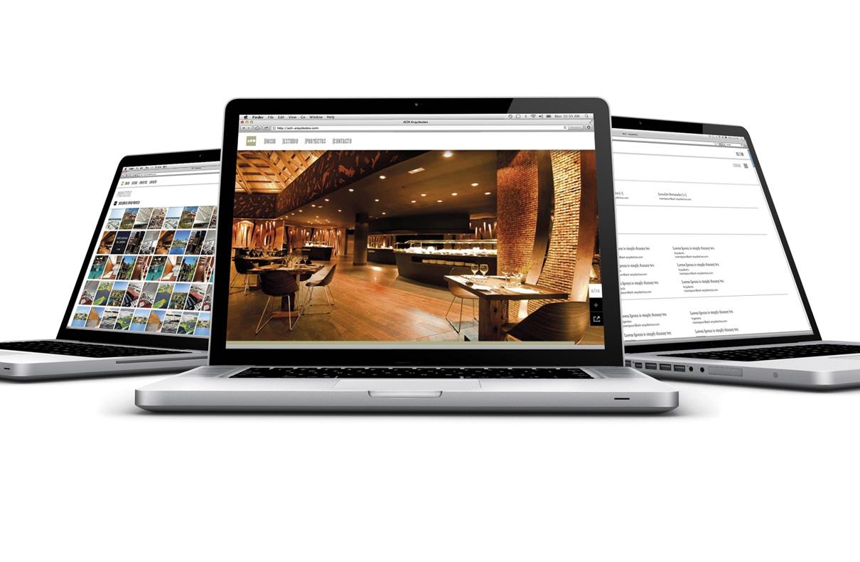 Rediseño web ach-arquitectos.com