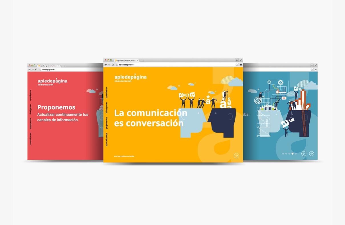 Diseño web apiedepagina.eu