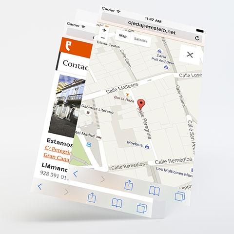 Diseño web ojedaperestelo.net